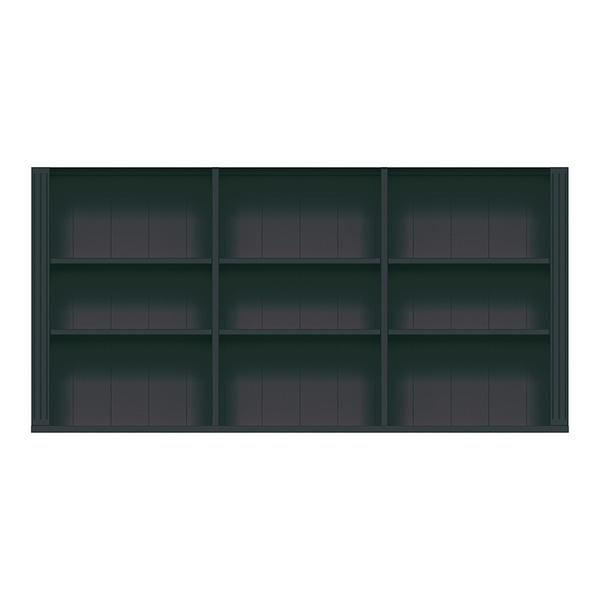 STOCKHOLM MODUL BLACK BOKHYLLA 3 HÖG 145B x 36D x 72