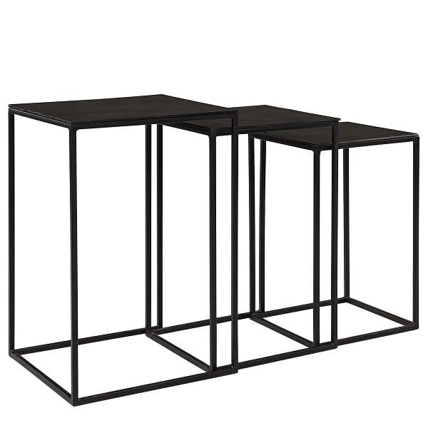NOVA side table 3/S black