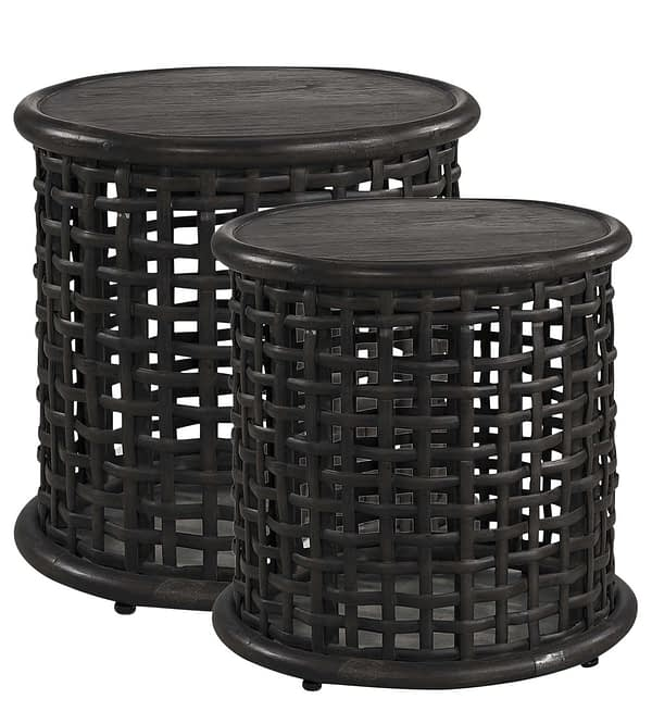 AW NEST Side table 2-s Black
