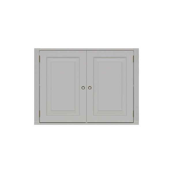 STOCKHOLM MODUL BLACK SKÄNK 2 DÖRRAR 98B x 36D x 72H