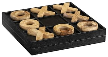 MENDOZA Game leather black