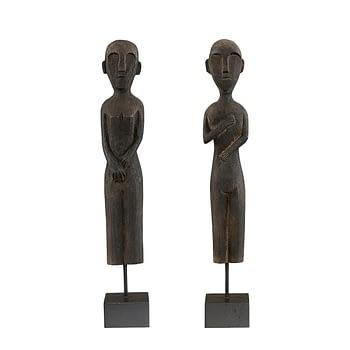 ZIKA & RAMA figures 2-set distr. black